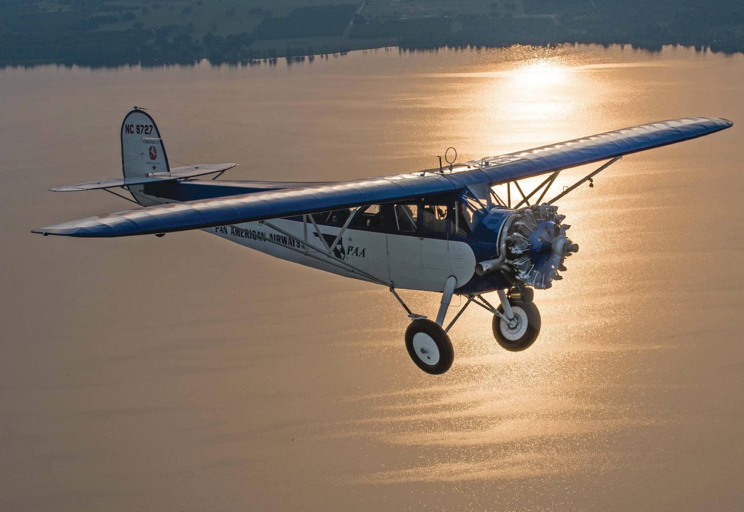 Fairchild's Model 71