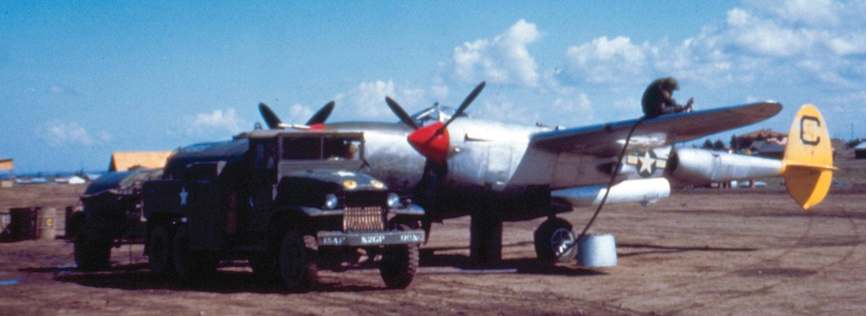 Piggyback In A P-38