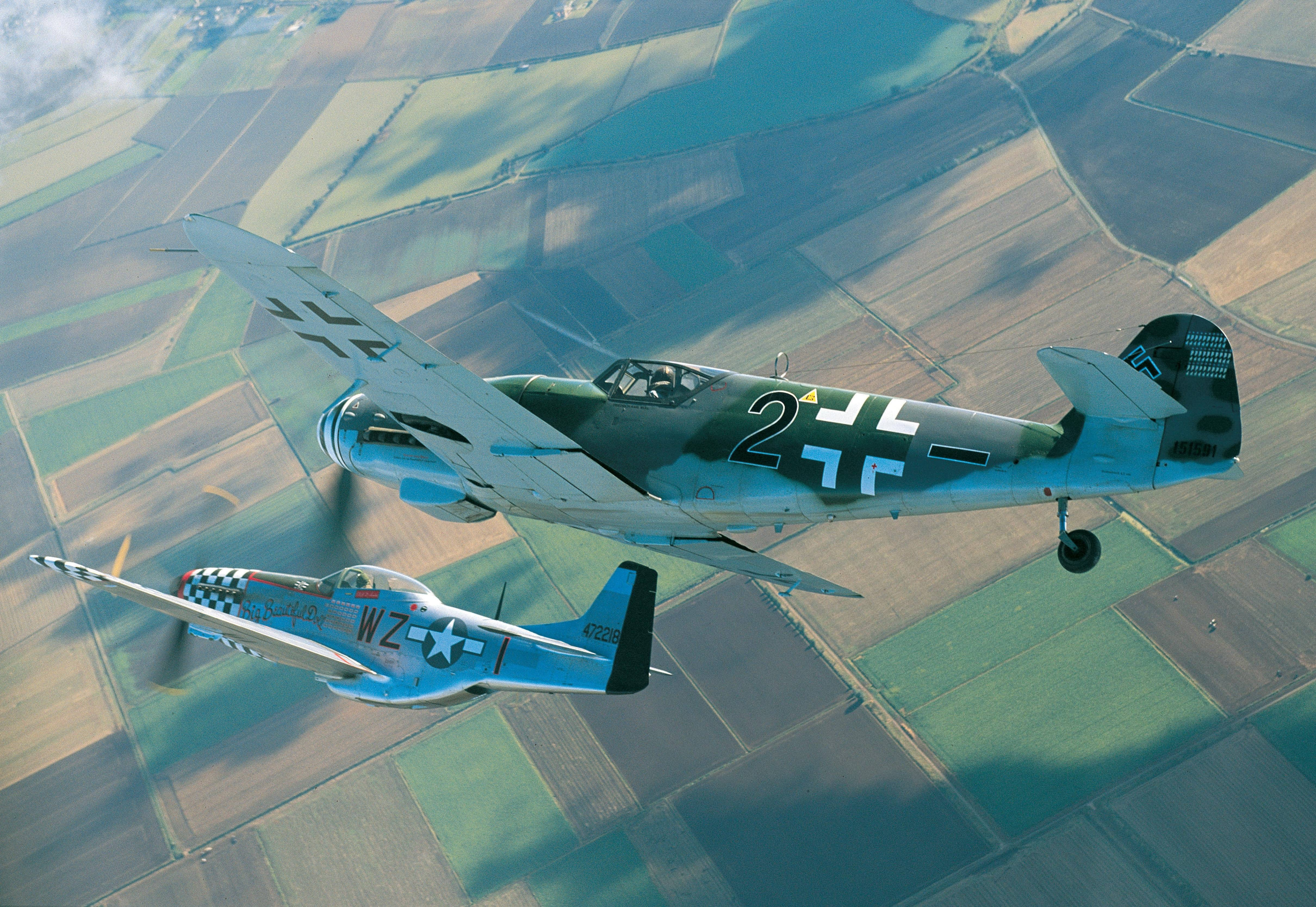 FLYING THE Bf 109: Two pilots give their reports