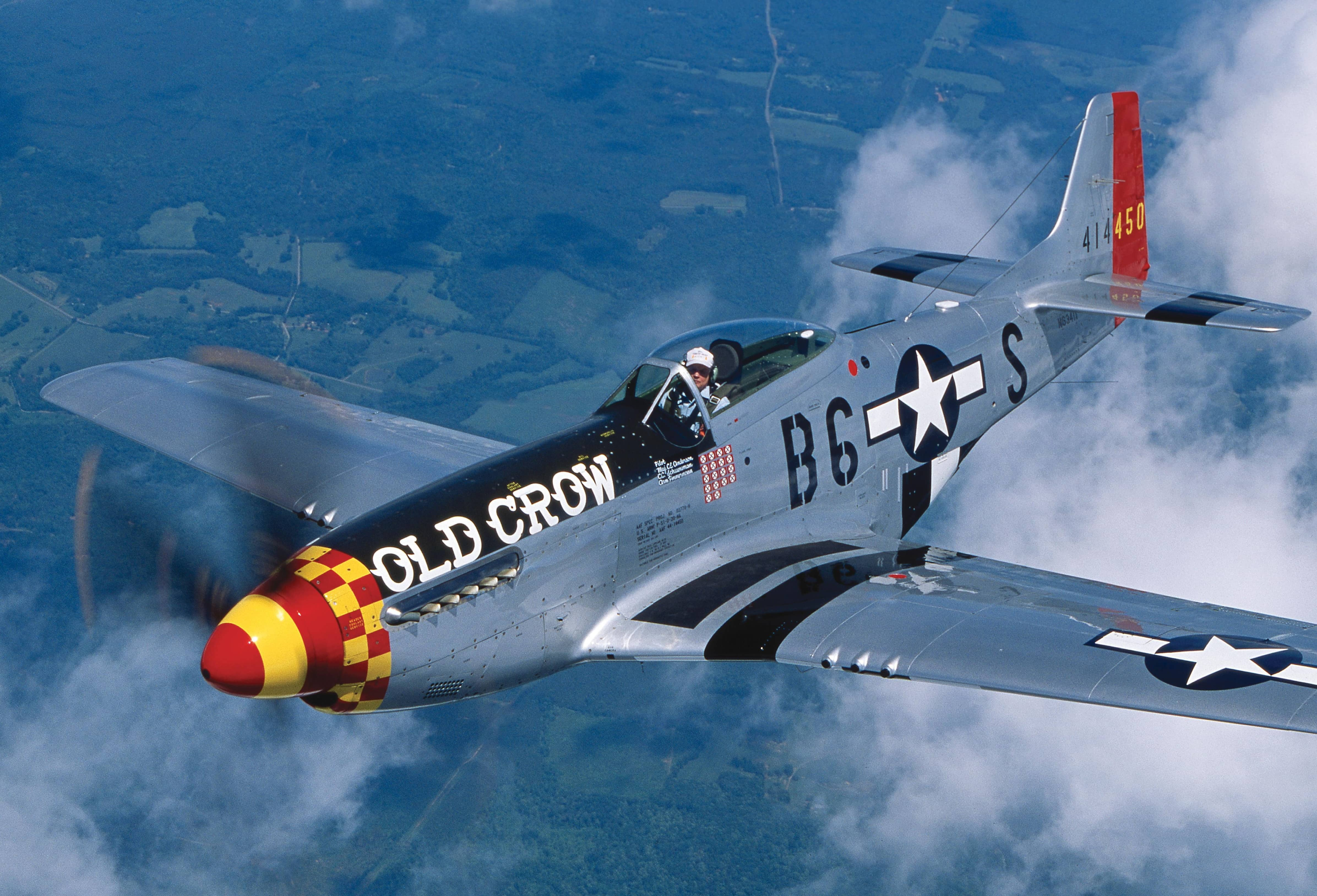 FLYING THE NORTH AMERICAN P-51 Mustang