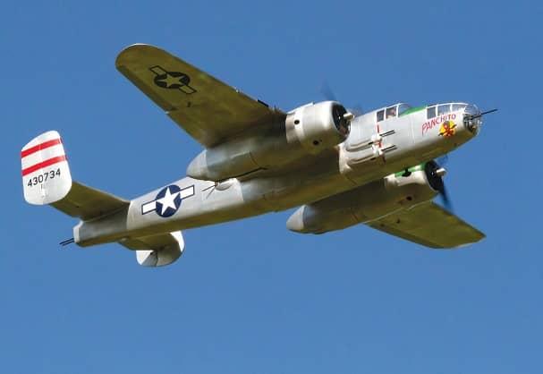 MONSTER-SCALE B-25 MITCHELL Paul LeTourneau's Amazing Panchito