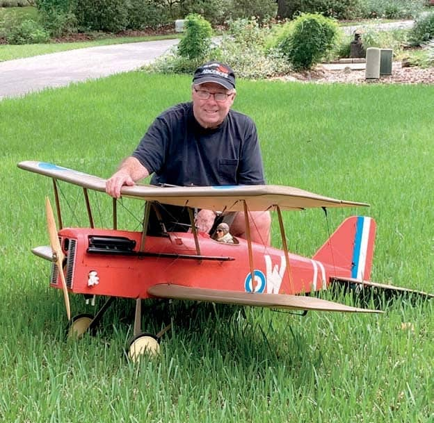 Bob Curry's SE5 Scout