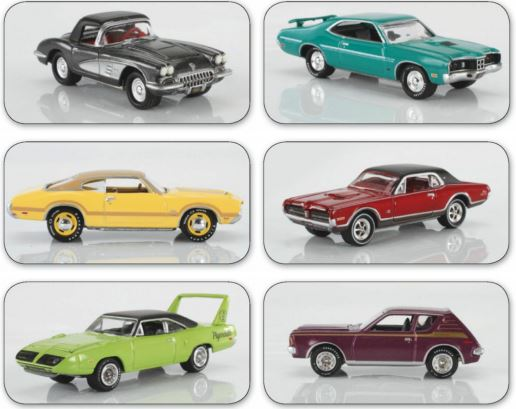 A SIX-CAR SALUTE TO JOHNNY LIGHTNING'S SECOND 50 YEARS