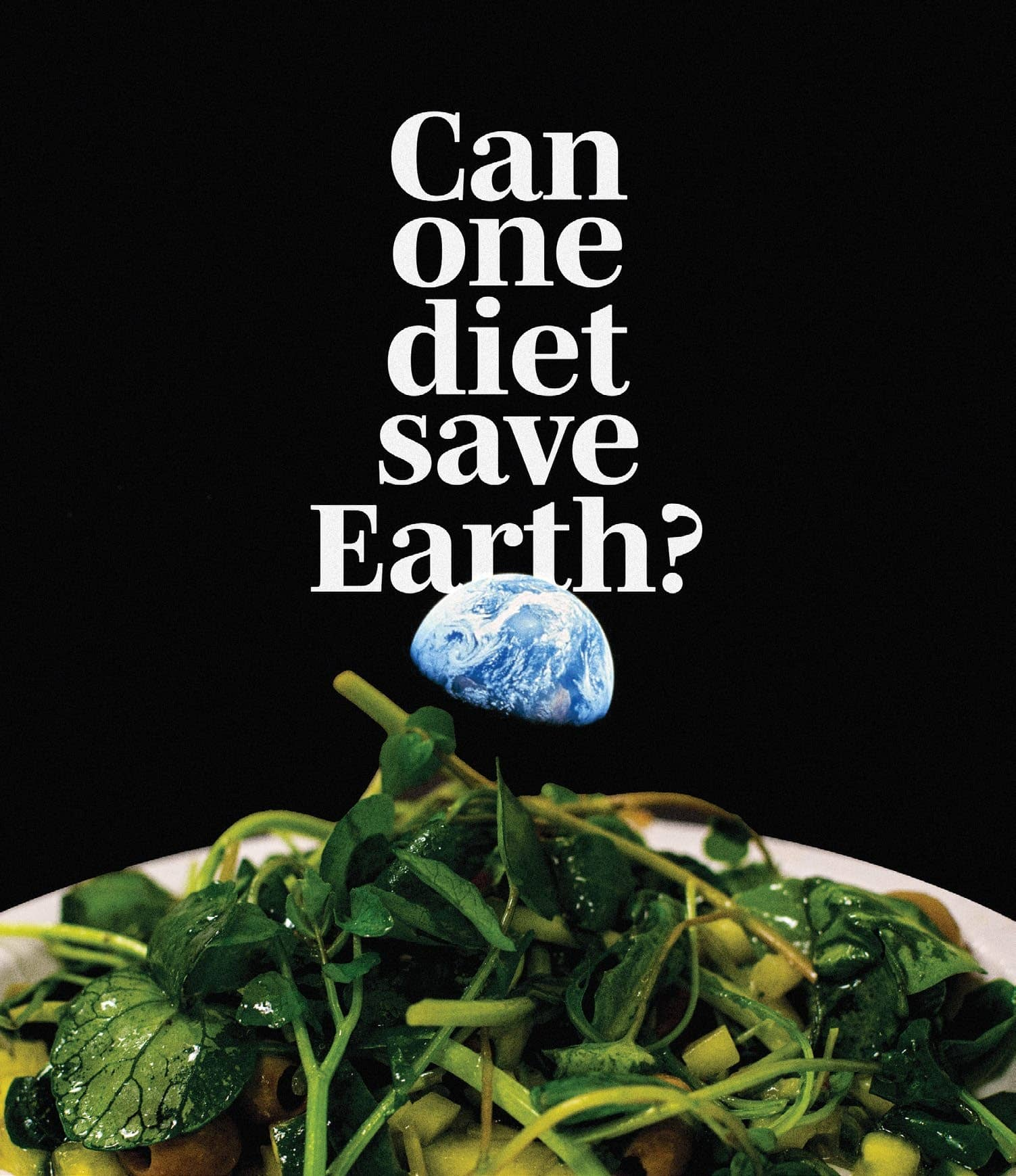 Can One Diet Save Earth?