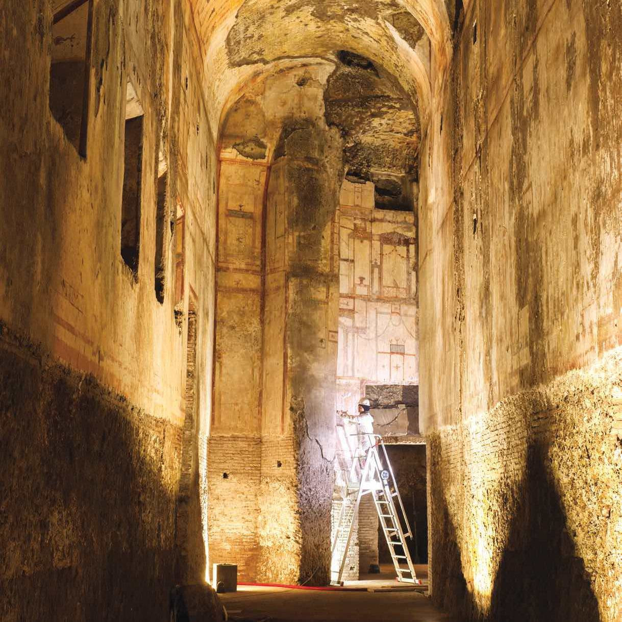 Saving Nero's Fabled Pleasure Palace