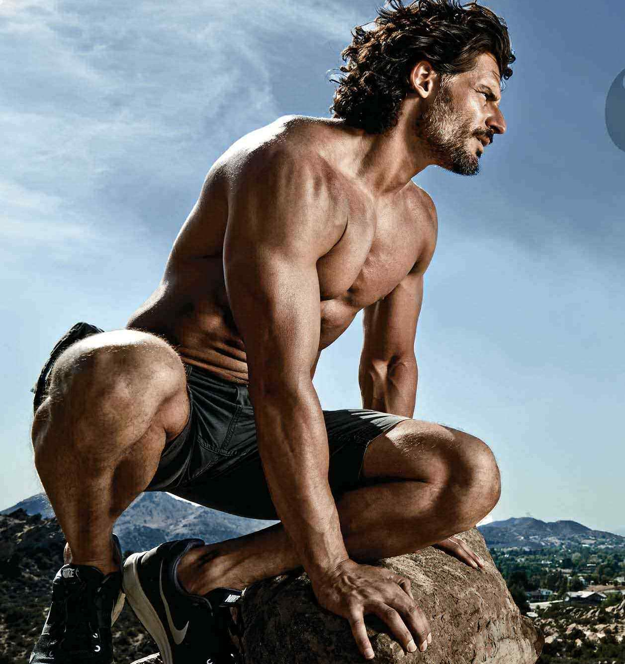 Joe Manganiello On Top Of The World
