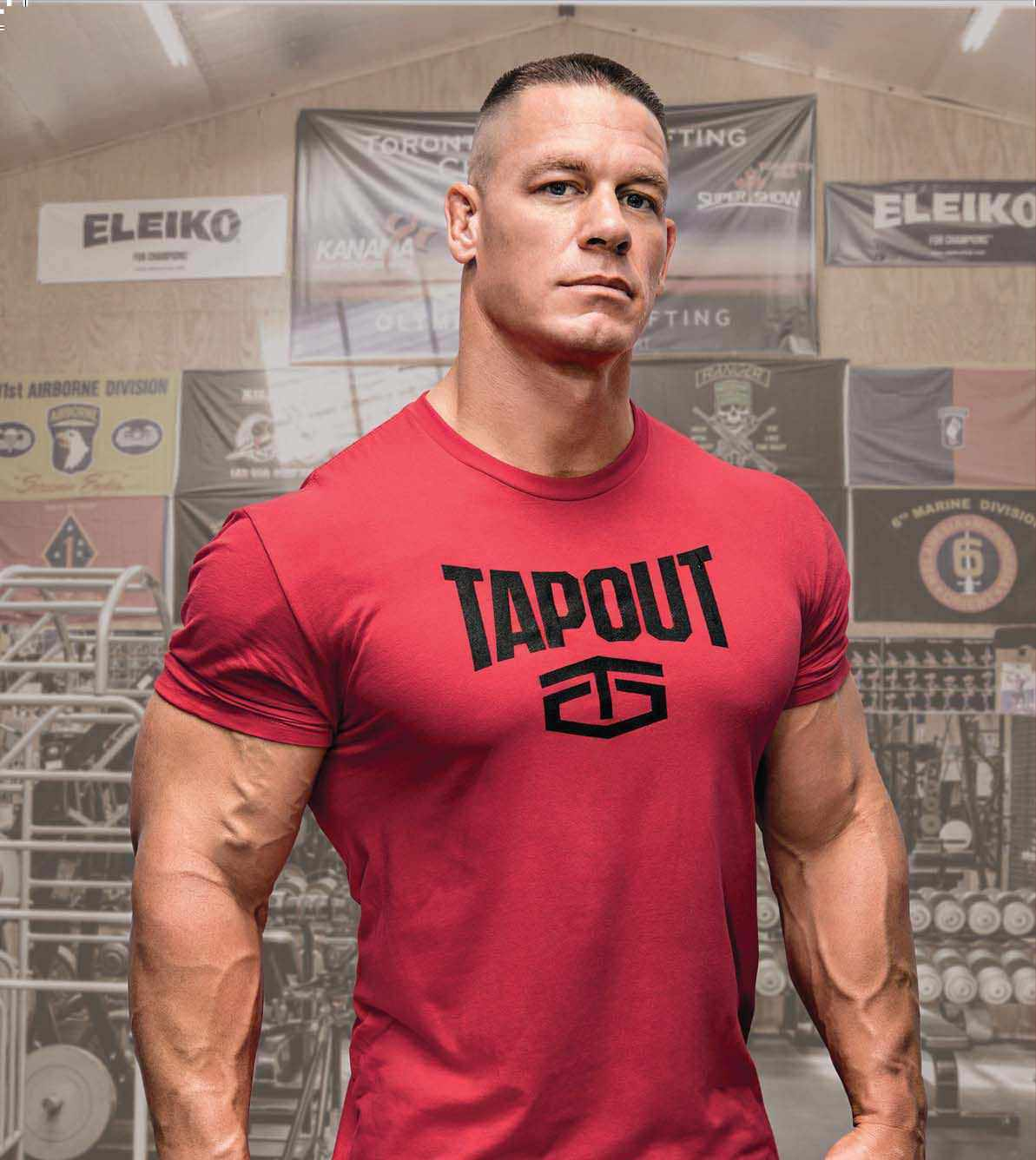 Muscle fitness - John cena gym image ...