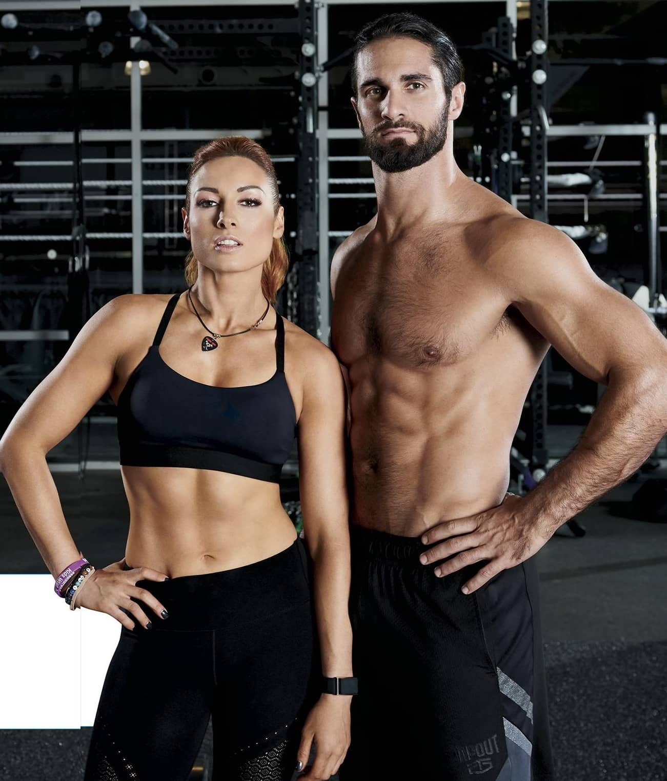 WWE's Fittest Superstars! Becky Lynch and Seth Rollins