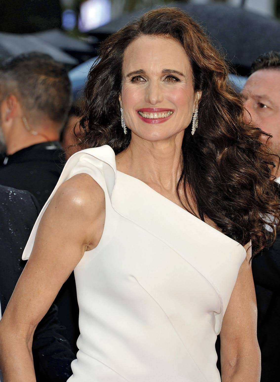 Andie Macdowell Bares All