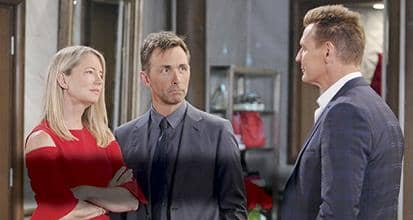 GH's Valentin And Nina Welcome Jax And Hayden To Wyndemre