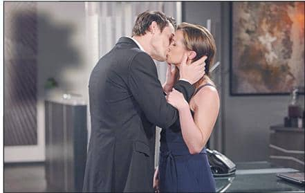 Y&R: Adam And Chelsea Kiss
