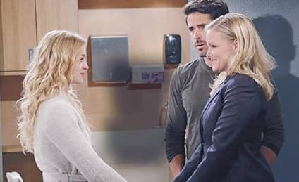 DAYS: CLAIRE IS RELEASED FROM BAYVIEW