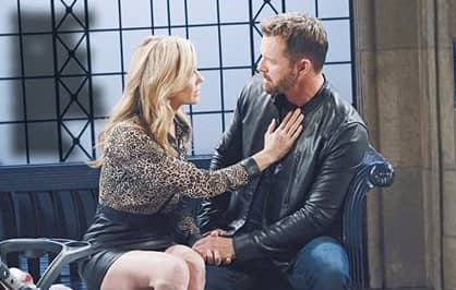 DAYS'S BRADY TO LEAVE TOWN WITH KRISTEN