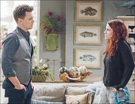 B&B: SALLY IS BUSTED!