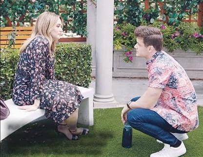 Y&R'S KYLE AND SUMMER: ENGAGED!