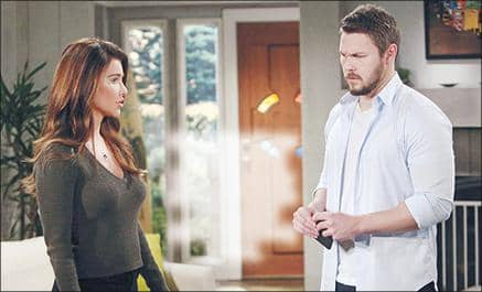 B&B: LIAM FINDS STEFFY PASSED OUT