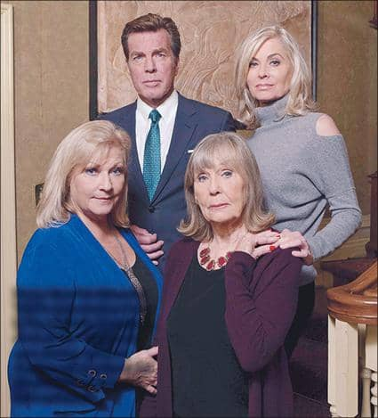 Y&R: THE ABBOTTS SAY GOOD-BYE TO DINA