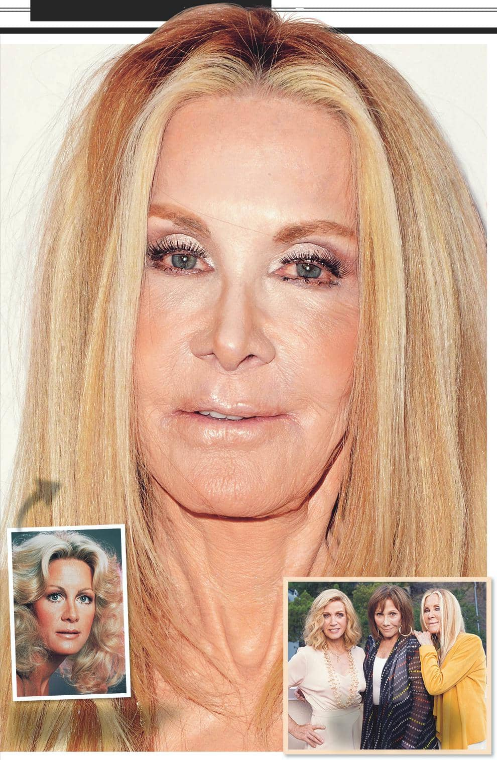 JOAN VAN ARK'S FACE IS MELTING!