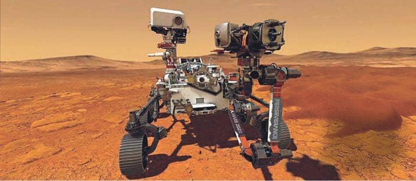 MARS LANDER HITS ITSELF!