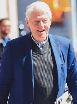 BILL CLINTON SKIN CANCER TERROR!