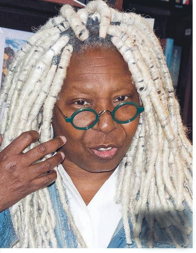 WITCHY WHOOPI CHEWS OUT VIEW CASTMATES!