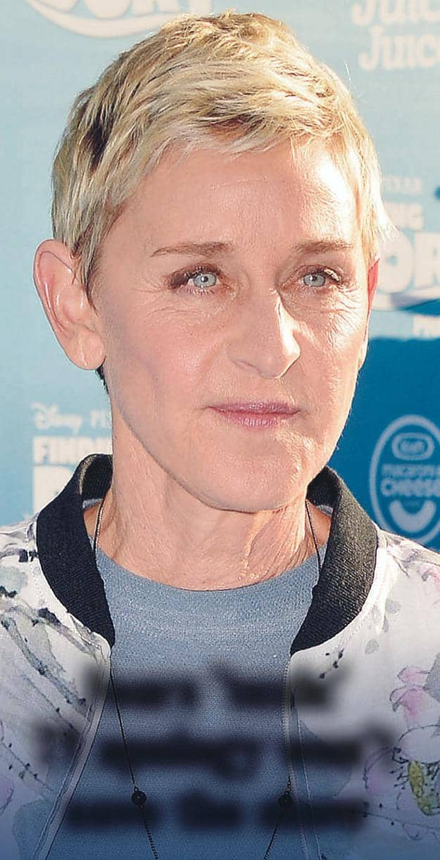 ELLEN'S SORRY STATE OF AFFAIRS!