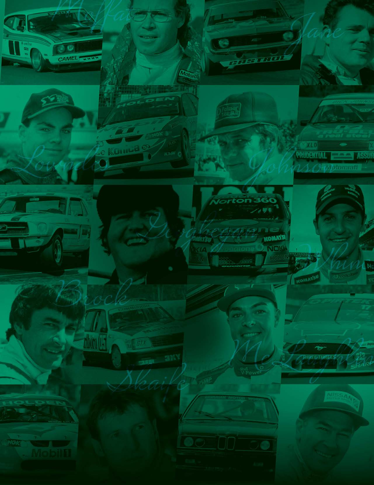 1960 – 2020 TOP 60 DRIVERS