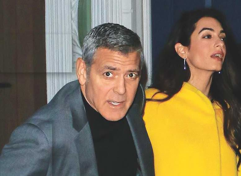 Clooney Back-To-Back Bomb Scares!