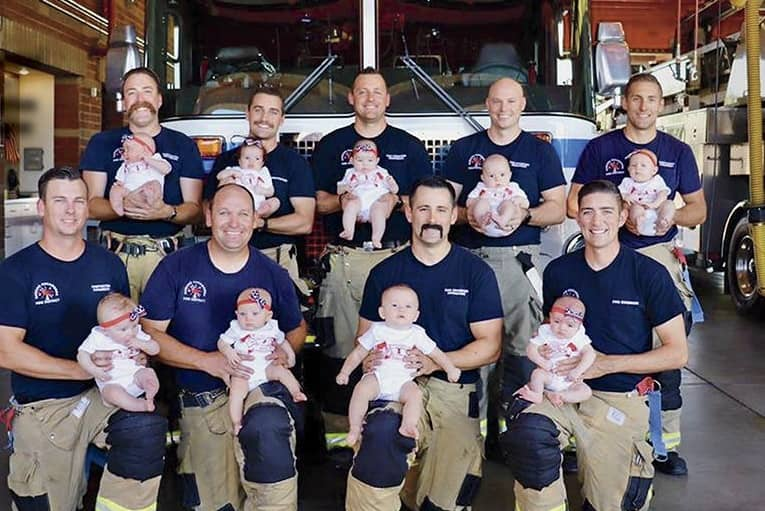 Baby Boom At The Fire Station!
