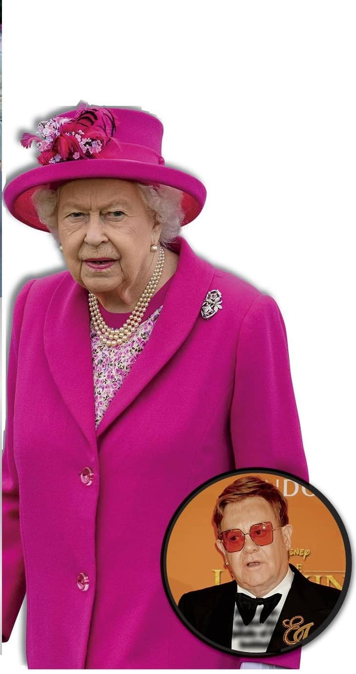 QUEEN GAVE CHEEKY NEPHEW A ROYAL SLAPPING!