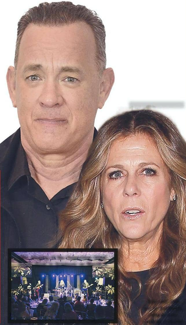 Infected Tom Hanks & wife Rita fight for their lives!