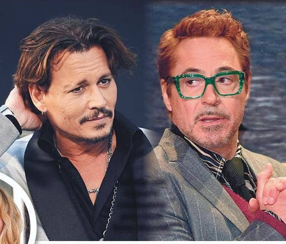 SHERLOCK DOWNEY SNIFFS OUT ROLE FOR OLD PAL DEPP!