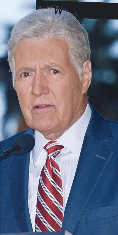 TREBEK WAGERS ALL ON QUIZ CHAMP TO FILL HIS SHOES