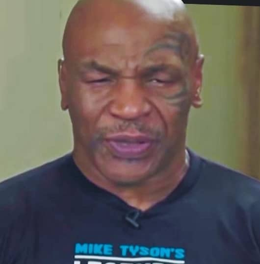 MIKE TYSON DOWN – & NODDING OUT!
