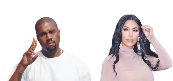 Kanye & Kim LEADING SEPARATE LIVES