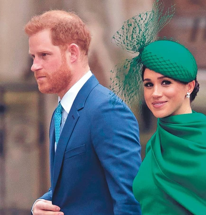 Harry: CONTROLLED BY MEGHAN!