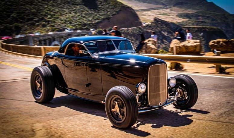 Hot Rods and Bentleys Invade Pebble Beach!
