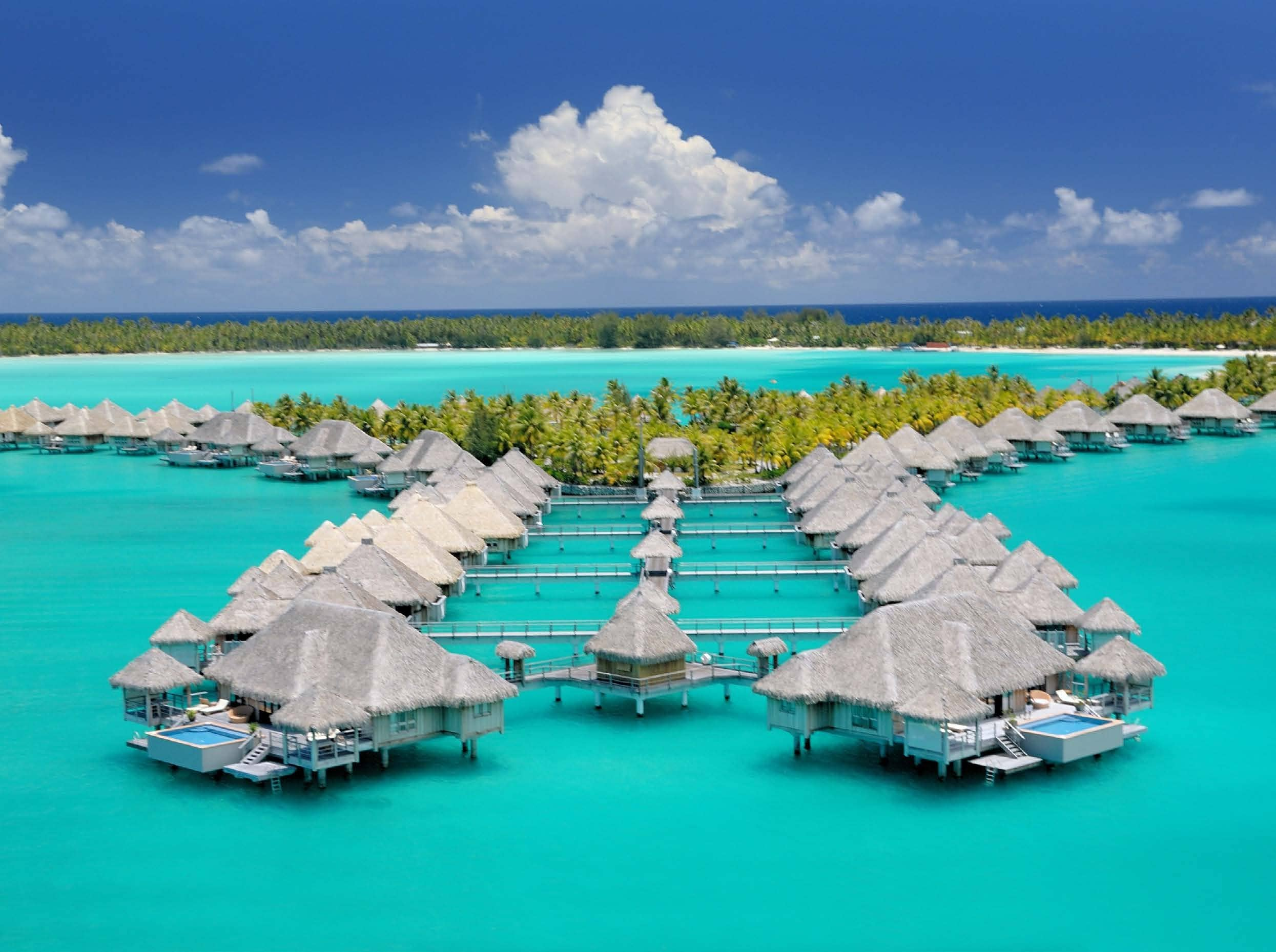 Most Romantic Overwater Bungalows For Honeymoon Couples