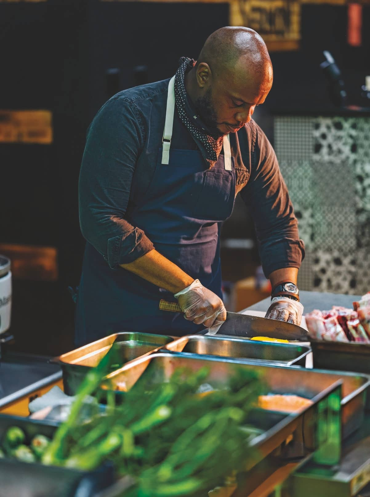 CHEF, INTERRUPTED: Rawlston Williams Grows His Congregation