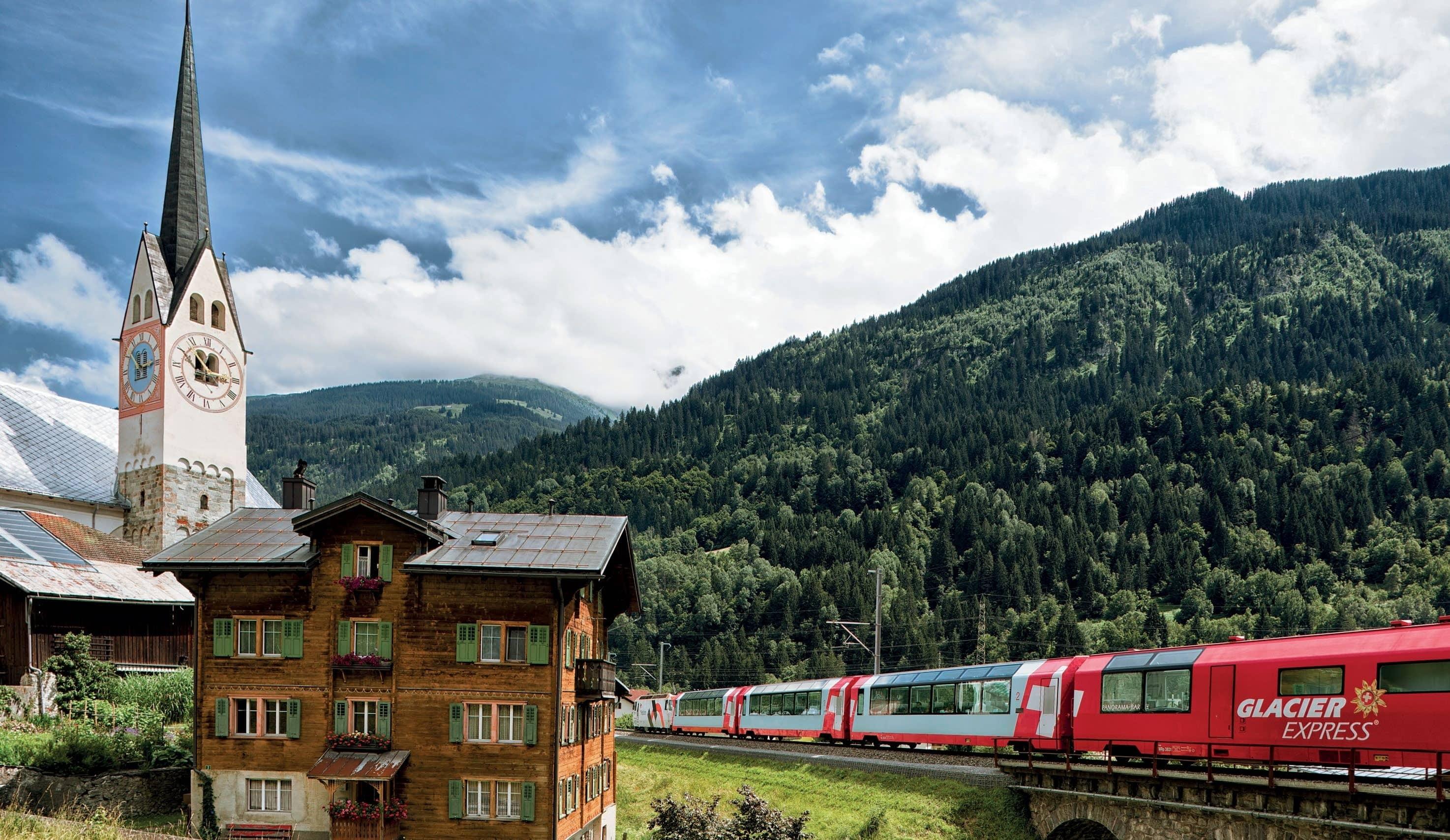 Travelling In Style along Switzerland's Scenic Railways