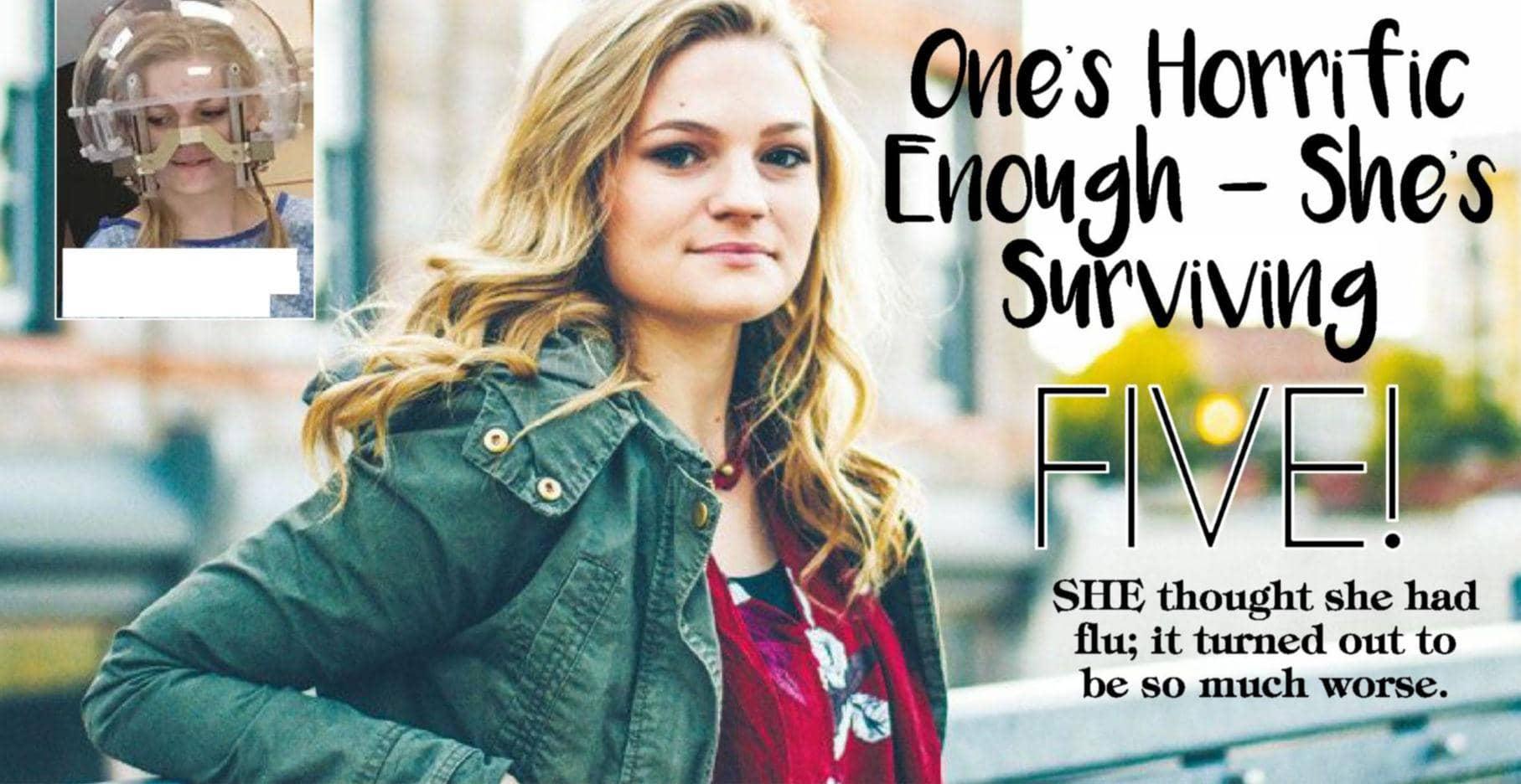One's Horrific Enough – She's Surviving Five!