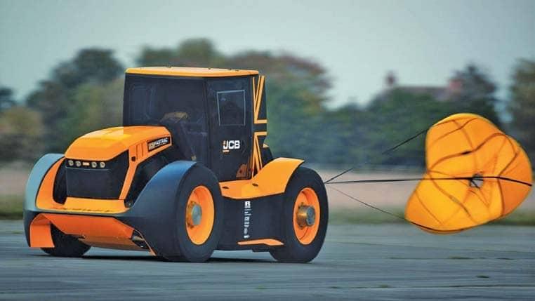 World's Fastest Tractor At LAMMA 2020