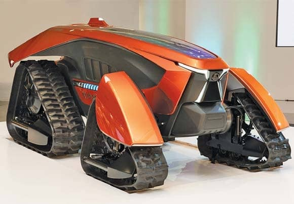 21st century update of Kubota 'dream tractor'