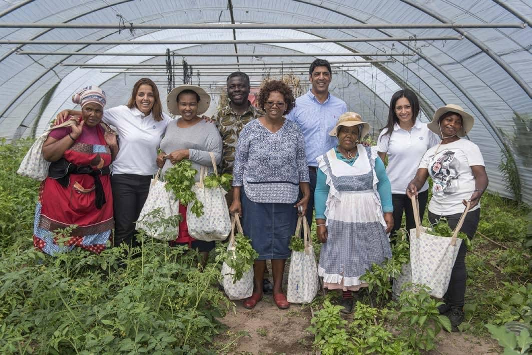 Township vegetable garden empowers women