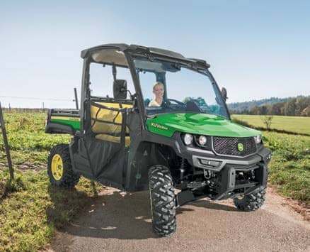 Small, but strong utility vehicles