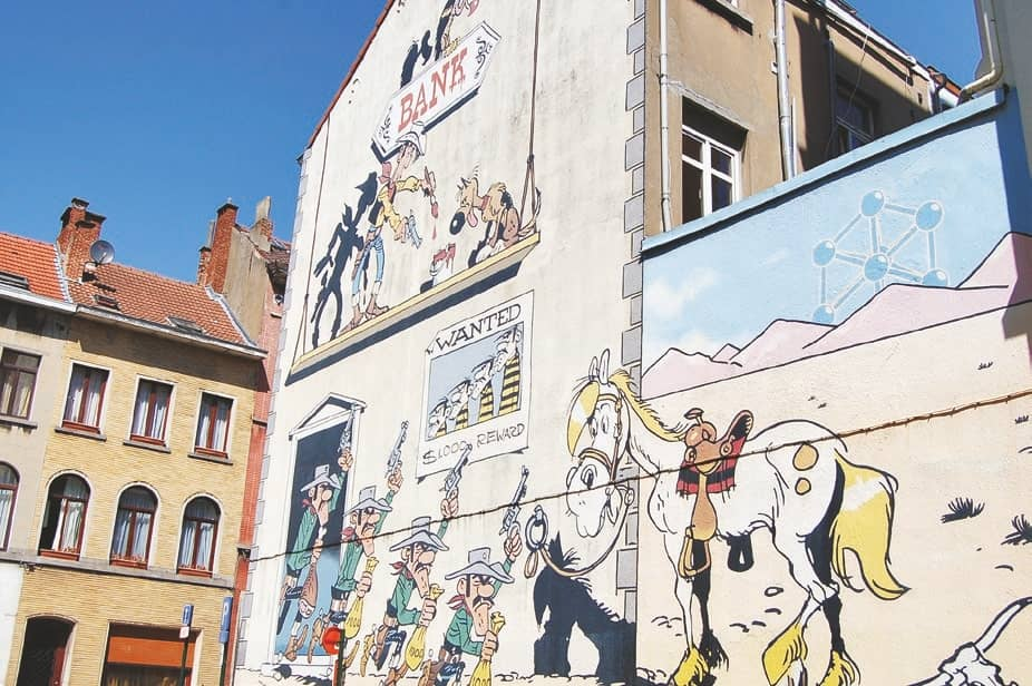 Brussels & the ninth art