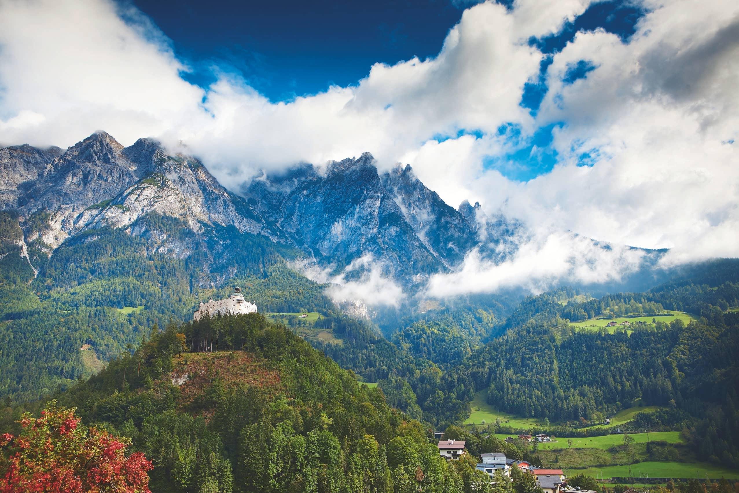 Breathe in pure mountain air…