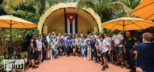 First Football Unites Cultural Tour Of 2019