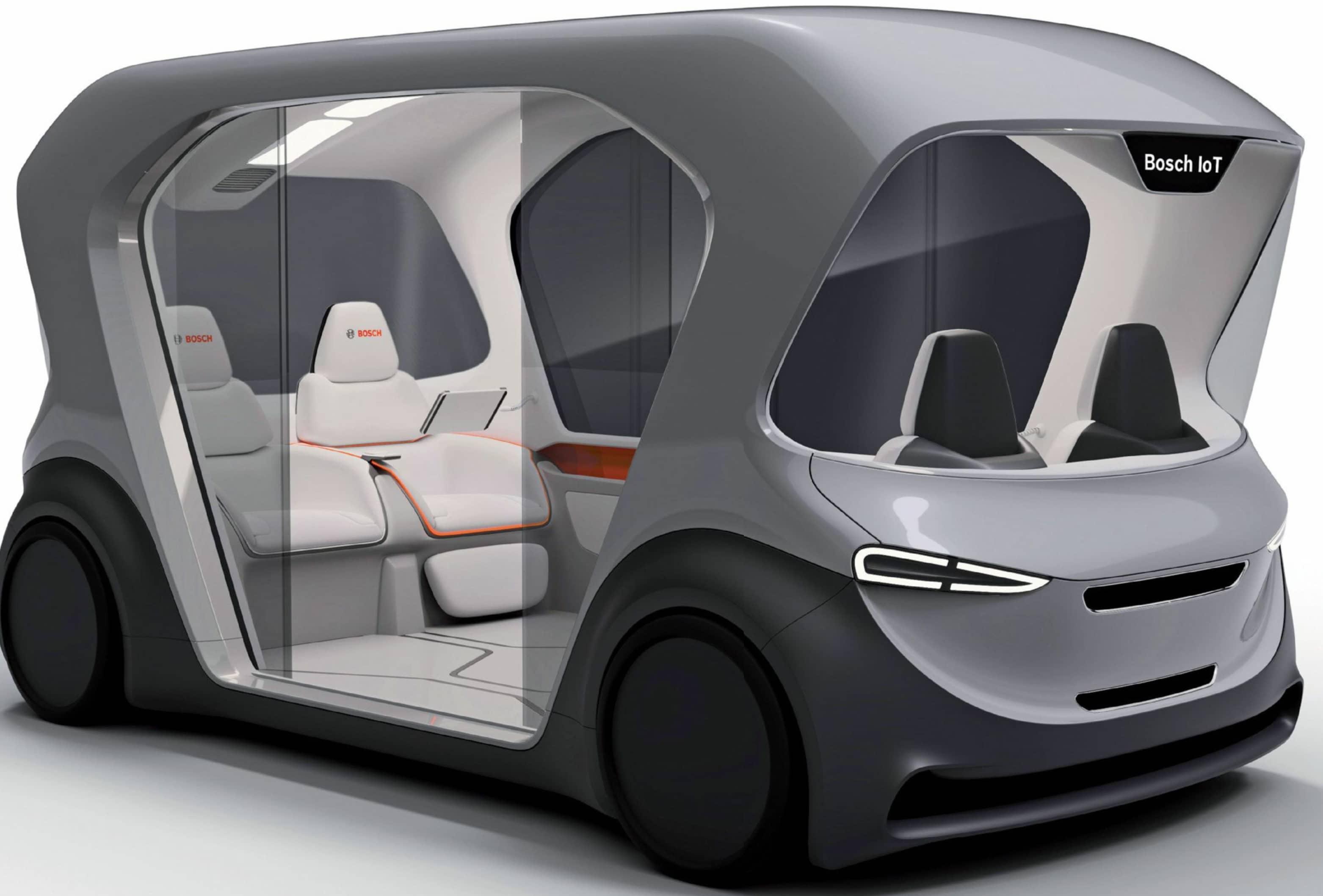 Bosch Shuttle Concept - Movimiento Lanzado
