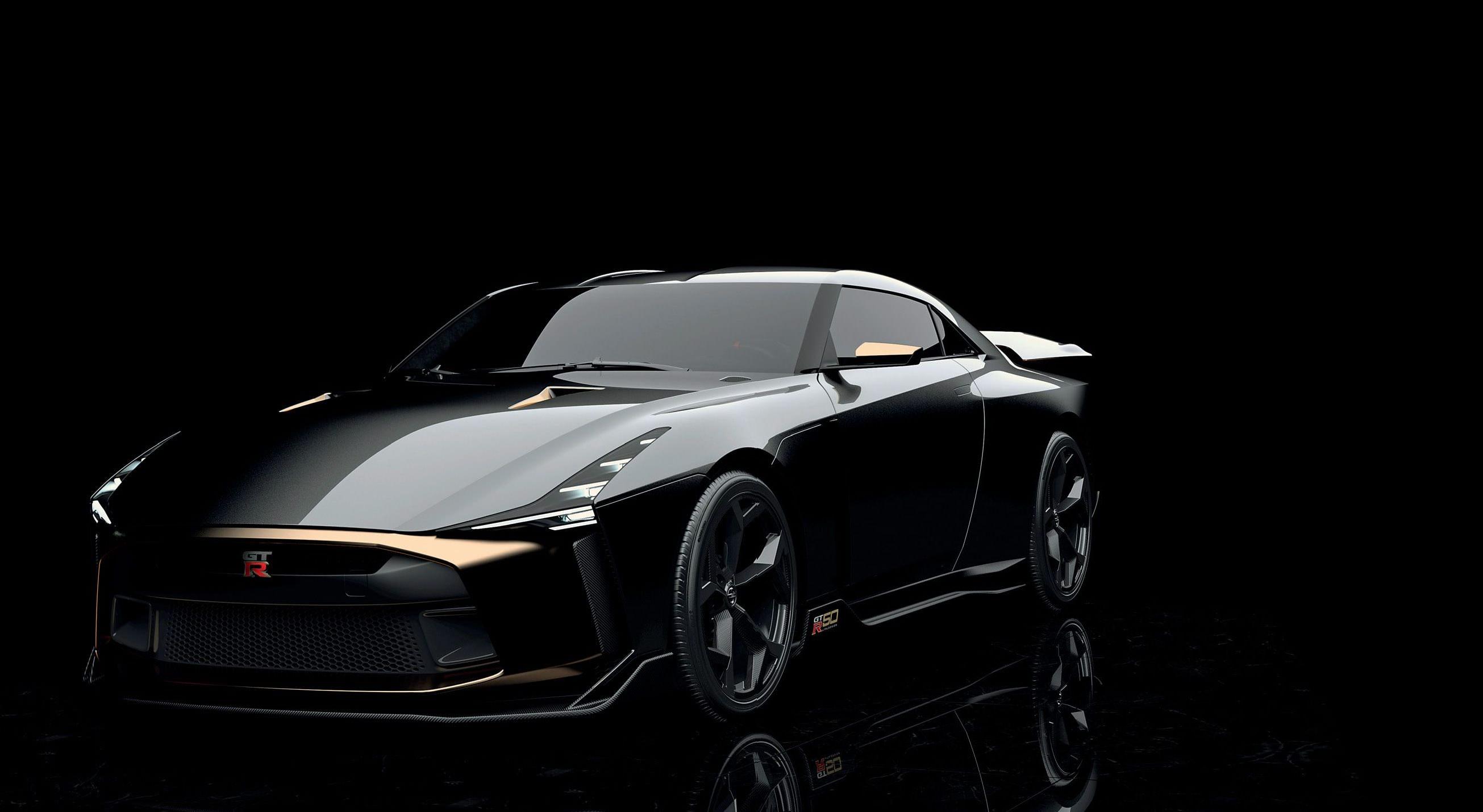 Nissan GT-R50'Goldzilla'